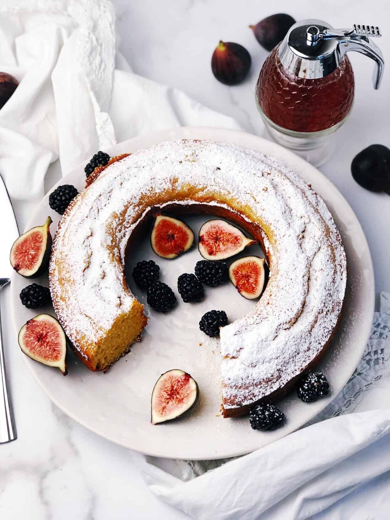 Honey Yogurt Cake – Ciambella Yogurt Cake
