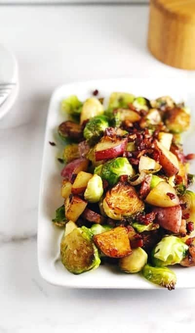 Brussels Sprouts Hash With Pancetta